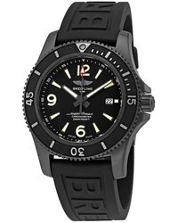 Breitling Superocean 46 Automatic Black Dial Mens Watch