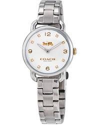 COACH Women's Delancey Watch Set - Metallic