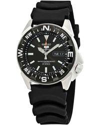 Seiko Series 5 Automatic Black Dial Mens Watch