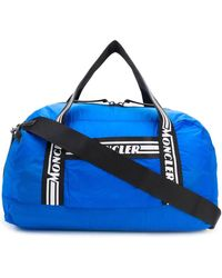 Moncler Teflon Nylon Nivelle Gym Bag - Blue