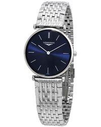 Longines La Grande Classique Blue Dial Ladies Watch