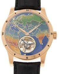 Jaeger-lecoultre Master Grand Tradition A Tourbillon 42 Automatic Mens Watch - Metallic