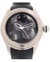 Corum Bubble Skull Automatic Black Dial Mens Watch  Sk01 - Metallic