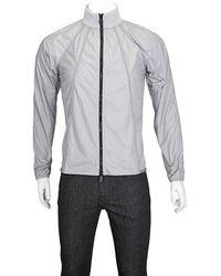 Christopher Raeburn Mens Light Gray Recyc Lightweight Jacket