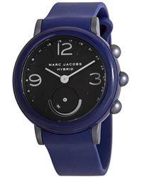 Marc Jacobs Ladies Blue Hybrid Smartwatch