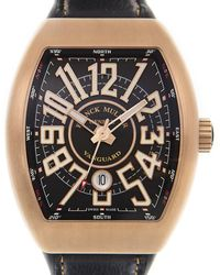 Franck Muller Vanguard Automatic Black Dial Unisex Watch V45scdtcir(bzbrnr)-bk - Multicolor