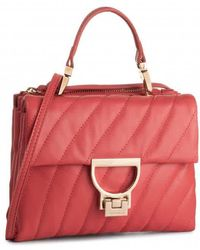 Coccinelle Red Ladies Handbags  Matlpred