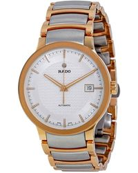 Rado Centrix Automatic Silver Dial Mens Watch - Metallic