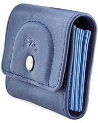 Longchamp Ladies Card Holder - Blue