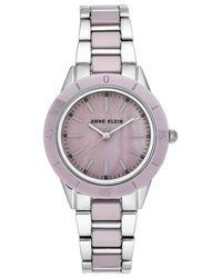 Anne Klein Lavender Dial Ladies Watch - Purple