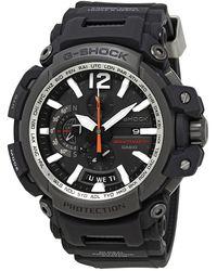 G-Shock G Shock Perpetual Alarm World Time Chronograph Quartz Dial Watch -1a - Black