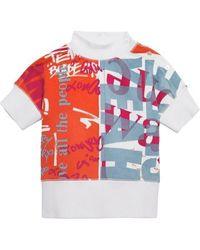 Burberry Kids Logo Print Cotton T-shirt, Brand - Red