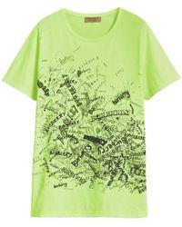 Burberry Rydon Graphic Crewneck Tee - Green