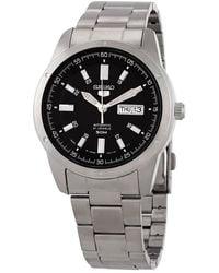 Seiko 5 Automatic Black Dial Mens Watch