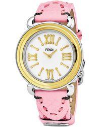 Fendi Selleria Ladies Watch - Pink
