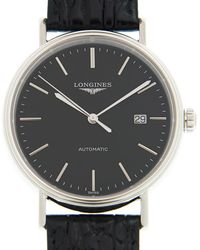 Longines Presence Automatic Black Dial Unisex Watch