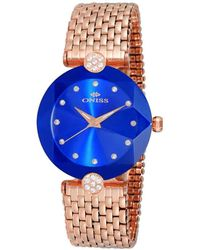 Oniss On8777s Blue Dial Ladies Watch -0lrgbu