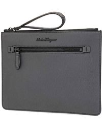 Ferragamo Ferragamo Document Holder - Gray