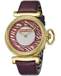 Roberto Cavalli - Silver Dial Ladies Watch - Lyst