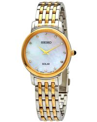 Seiko - Diamonds Mother Of Pearl Dial Ladies Watch - Lyst