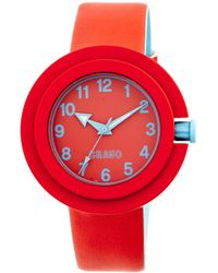 Crayo Equinox Unisex Watch - Red