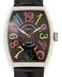 Franck Muller Cintree Curvex Automatic Black Dial Unisex Watch 7851sccoldrm(ac)-bk - Multicolour