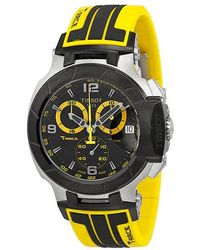 Tissot T-race Chronograph Black Dial Mens Watch T0484172705711