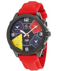 Jacob & Co Jacob And Co. Five Time Zone Black Dial Mens Watch -11bc