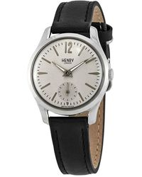 Henry London Piccadilly Grey Dial Ladies Watch -us-0073
