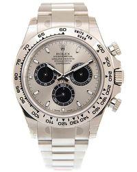 Rolex Cosmograph Daytona Chronograph Automatic Chronometer Grey Dial Watch gyro - Metallic