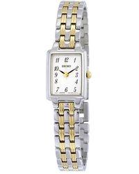 Seiko Dress Two-tone Ladies Watch - Metallic