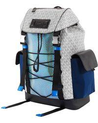 Michael Kors Greyson Logo Mixed-media Sport Backpack - Multicolor