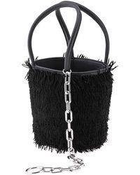 Alexander Wang Ladies Hobo Bag Roxy Mini Bucket- Black