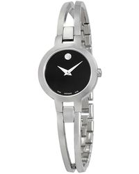Movado - Amorosa Stainless Steel Bracelet Watch - Lyst
