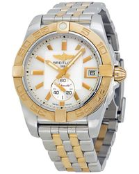 Breitling Pre-owned Galactic Automatic Ladies Watch - Metallic