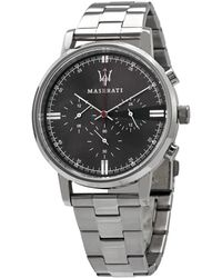 Maserati Classe Chronograph Black Dial Mens Watch