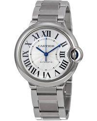Cartier Ballon Bleu Automatic Unisex Watch - Metallic
