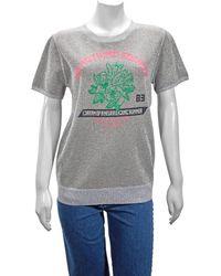 J.won Grey Metallic Top T-shirt, Brand