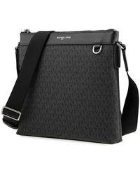 Michael Kors Black Logo Cross Body Messenger Bag