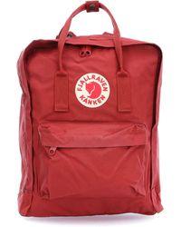 Fjallraven Deep Red Kanken Backpack