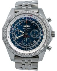 Breitling Pre-owned Bentley Motors Chronograph Automatic Blue Dial Mens Watch