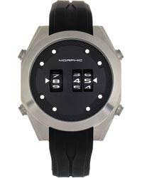 Morphic M76 Series Quartz Black Dial Mens Watch
