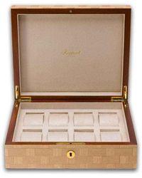 Rapport London Rapport Heritage Bamboo 8 Watch Case - Metallic