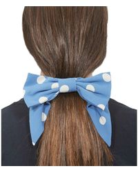 Marc Jacobs The Hair Bow Polka Dots - Blue