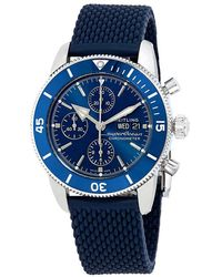 Breitling - Superocean Heritage Ii Chronograph Automatic Blue Dial Mens Watch - Lyst