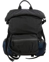 Bottega Veneta Paper Touch Nylon Backpack - Black