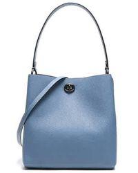 COACH Ladies Charlie Bucket Bag In Blue