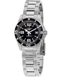 Longines Hydroconquest Automatic Black Dial Watch L328445