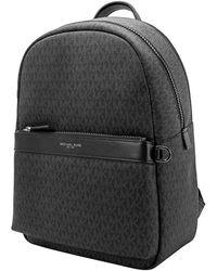Michael Kors Men's 33f9lgyb2o001 Black Pvc Backpack
