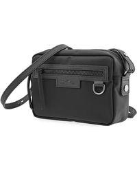 Longchamp Ladies Le Pliage Crossbody Bag In Black
